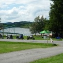 Ubytování v chatkách přímo u jezera Lipno – Černá v Pošumaví