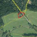 Prodej původní stavební parcely nedaleko rakouských hranic- Tiché,Dolní Dvořiště