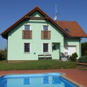Dům ve Frymburku s bazénem  - s  výhledem na jezero Lipno
